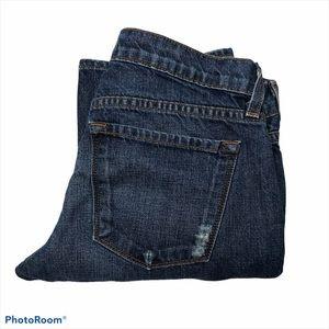 J Brand Camille Boyfriend Distressed Jeans
